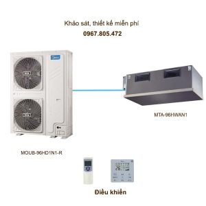 Điều hòa multi Midea MTA-96HWAN1/MOUB-96HD1N1-R 26kW 2 chiều