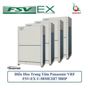 Điều hòa trung tâm Panasonic VRF FSV-EX U-58ME2H7 58HP 2 Chiều
