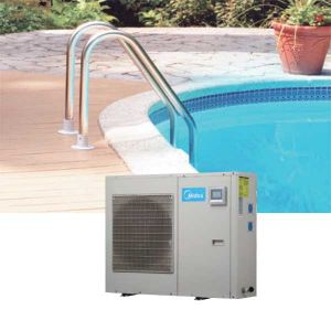 Máy nước nóng lạnh trung tâm bơm nhiệt Midea LRSJ-60/NYN1-A1 20m3