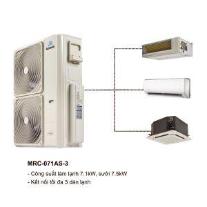 Dàn Nóng Điều Hòa Multi ActronAir MRC-071AS-3 7.1kW 2 Chiều