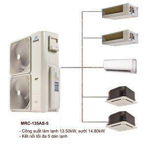 Dàn Nóng Điều Hòa Multi ActronAir MRC-135AS-5 13.50kW 2 Chiều
