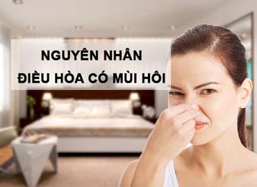 Nguyên nhân điều hòa có mùi hôi khi sử dụng và cách xử lý
