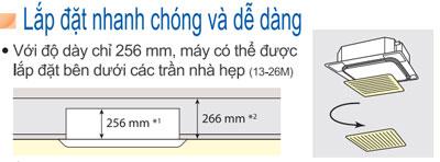 dieu-hoa-am-tran-daikin-FCF125CVM-RZF125CVM-lap-dat-de-dang