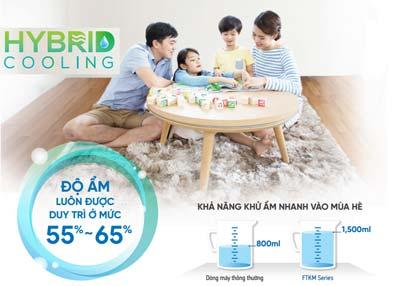 dieu-hoa-daikin-ftkm25svmv-hybrid-cooling