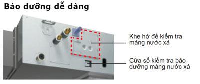 dieu-hoa-am-tran-noi-ong-gio-FBQ100EVE-RQ100MV1-bao-duong-de-dang